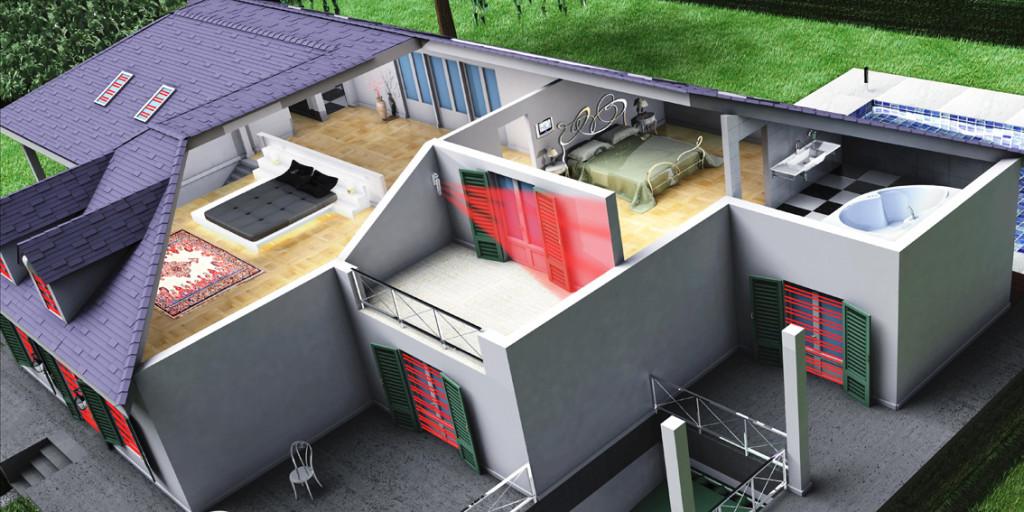 Barriera-Infrarossi-Impianto-Antifurto-Wireless